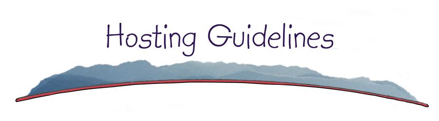Hosting-Guidelines